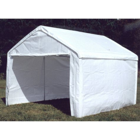 Sidewall Kit with Flaps - White - 10' x 13'