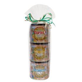Carolina Nut Holiday Scene Classic Tower (10 oz., 3 ct.)