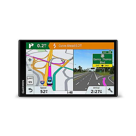 Garmin DriveSmart 61 North America Lifetime Map Touchscreen GPS with Bonus Friction Mount