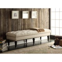 """Katherine 62"""" Bench (Assorted Colors)"""