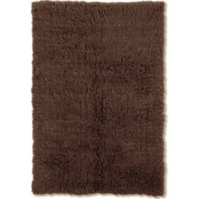 Flokati Shag Rug, Cocoa (Assorted Sizes)