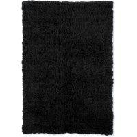 Flokati Shag Rug, Black (Assorted Sizes)