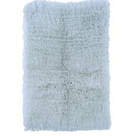 Flokati New Shag Rug, Blue (Assorted Sizes)