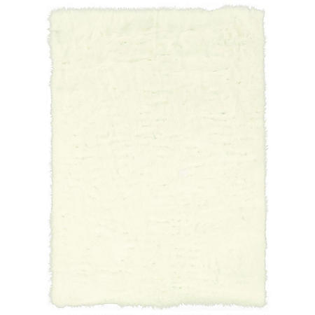Faux Sheepskin Rug, White (Assorted Sizes)