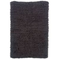 Flokati New Shag Rug, Grey (Assorted Sizes)