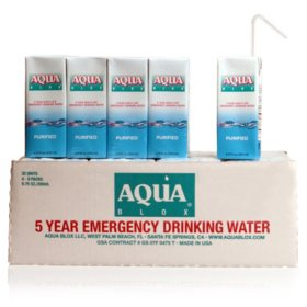 Aqua Blox Emergency Drinking Water (6.75 oz., 32 ct.)