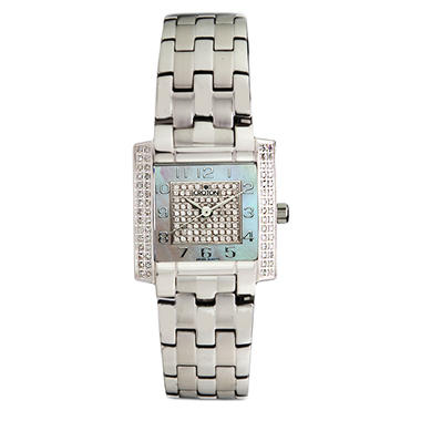 Croton 0.75 ct. t.w. Diamond and Stainless Steel Watch