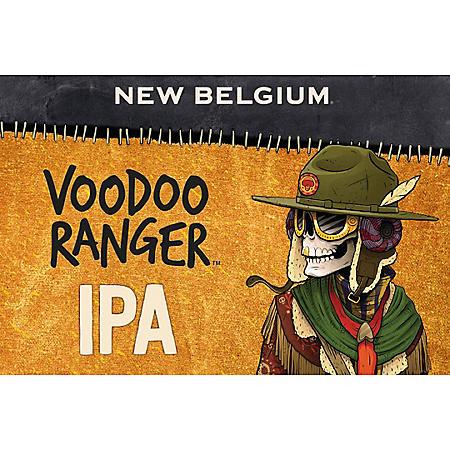 New Belgium Voodoo Ranger IPA (12 fl. oz. can, 12 pk.)