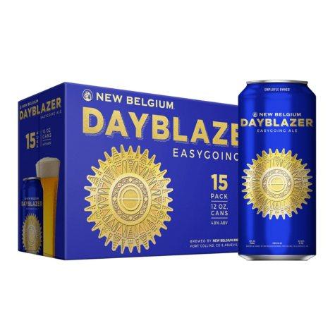New Belgium Dayblazer Ale (12 fl. oz. can, 15 pk.)