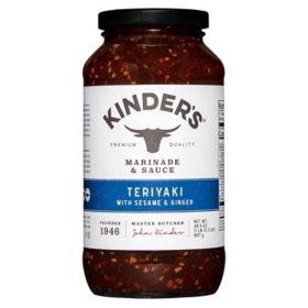 Kinder's Teriyaki Sauce (28.5 oz.)