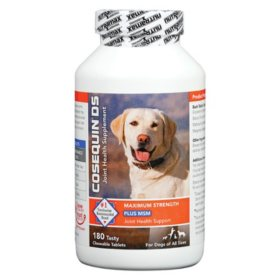 Cosequin Maximum Strength Plus MSM Chewable Tablets (180 ct.)