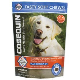 Cosequin Maximum Strength Plus MSM & Omega 3s (150 ct.)