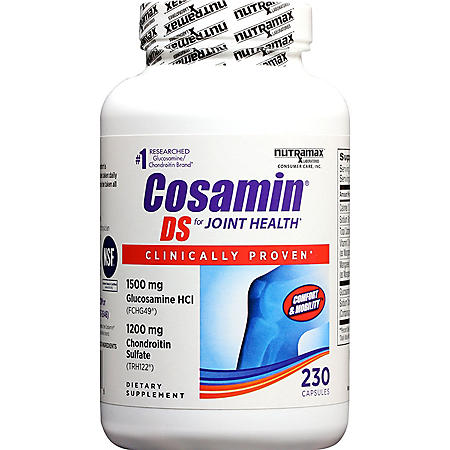 Cosamin DS Capsules, for Joint Health (230 ct.)