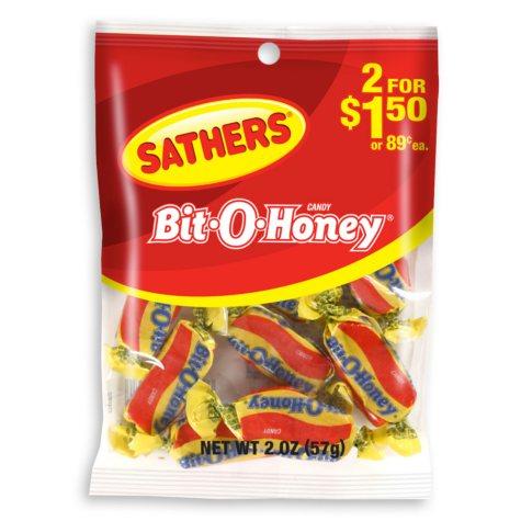 Sathers Bit-O-Honey (2 oz. bag, 12 ct.)