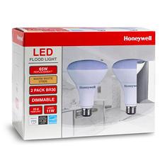 Honeywell 11 Watt BR30 LED Bulb Set (2 pack)