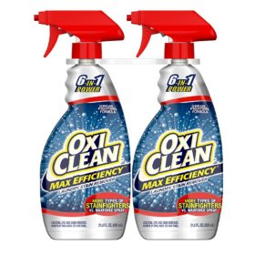 OxiClean Max Efficiency Spray 21.5 oz., 2 pk.