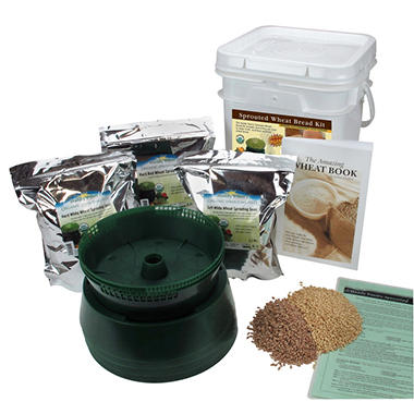 Handy Pantry Sprouted Wheat Bread Making Kit
