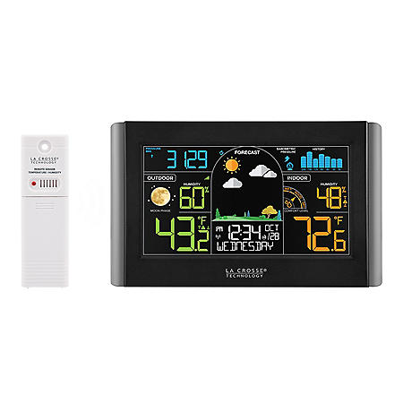 Wireless Weather Station with Atomic Time & Date