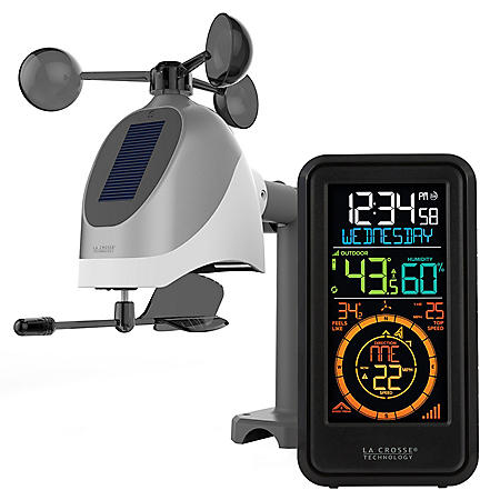 La Crosse S81120 Wireless Weather Station with Wind, Temperature and Humidity