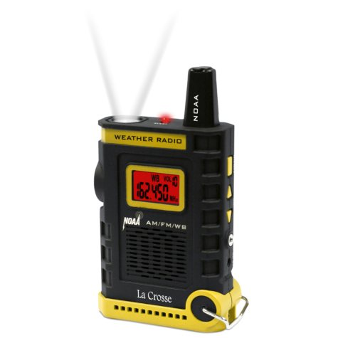 Handheld NOAA Weather Radio