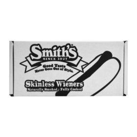 Smith's Skinless Wieners, Bun Size (6 lbs.)