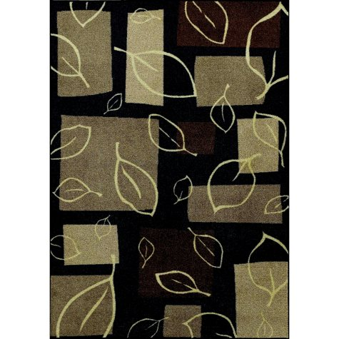 "Spencer Area Rug - 4'11"" x 7' - Black"
