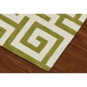 Infinity Collection Area Rug (Assorted Sizes and Colors)