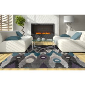 Grand Tour Collection Area Rug (Assorted Sizes and Colors)