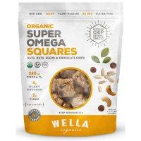 Wella Organics Chocolate Chip Oatmeal Super Omega Squares (1.17 lbs.)