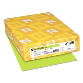 "Astrobrights Colored Cardstock, 8.5"" x 11"", 65 lb/176 gsm, 250 Sheets, Choose a Color"