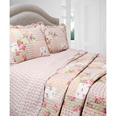 Vintage Classics Collection Rosemary Quilt Set