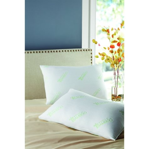Bamboo-Polyfill Pillows, Jumbo (2-pack)