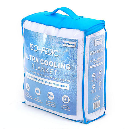 ISO-PEDIC Ultra Cooling Blanket (Assorted Sizes)