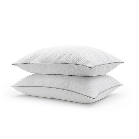 Essence of Sleep Luxury Spa Knit Pillow, 2 Pack
