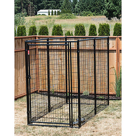 Lucky Dog Modular Kennel - 8'L x 4'W x 6'H