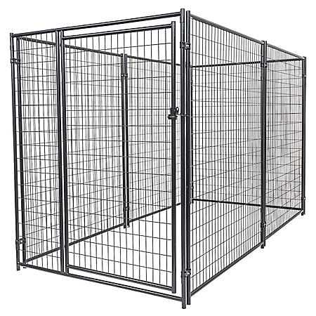Lucky Dog Modular Kennel Welded Wire Kit (10'L x 5'W x 6'H)