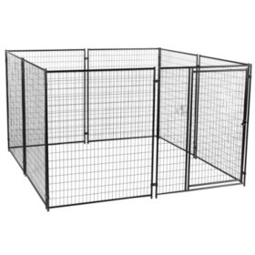 Lucky Dog Modular Kennel  - 10'L x 10'W x 6'H