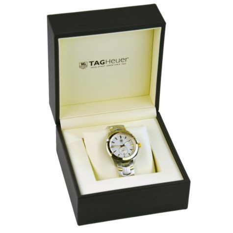 TAG Heuer Link Watch in Stainless Steel and Gold Tone