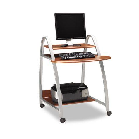 Mayline Eastwinds Arch Computer Cart, Medium Cherry
