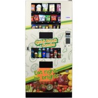 Seaga Healthy ADA Compliant 29 Selection Snack/Beverage Combo Machine
