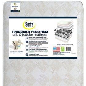 Serta Tranuility Eco Firm Crib and Toddler Mattress
