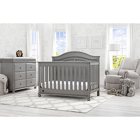 Simmons Kids Bedford 5-Piece Baby Furniture Set (Choose Your Color)