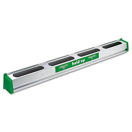 "Unger 36"" Hold Up Aluminum Tool Rack - Green Aluminum"
