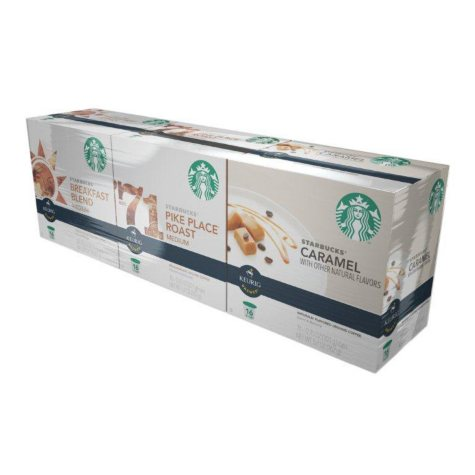 Starbucks Coffee Variety Pack (48 K-Cups)