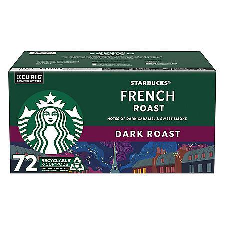 Starbucks French Roast Coffee K-Cups (72 ct.)