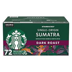 Starbucks Sumatra Coffee (72 K-Cups)