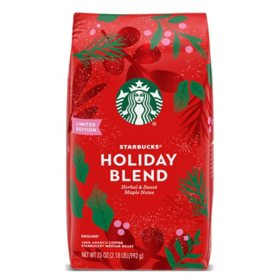 Starbucks Holiday Blend Ground Coffee, Medium Roast (35 oz.)