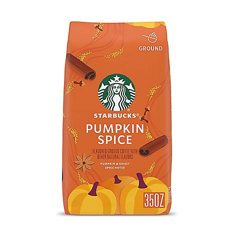 Starbucks Ground Coffee, Pumpkin Spice (35 oz.)