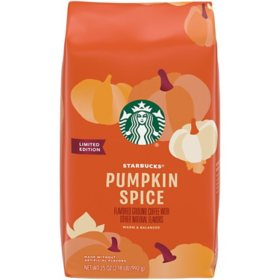 Starbucks Ground Coffee, Pumpkin Spice (35 oz.)