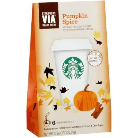Starbucks Via Pumpkin Spice Coffee (18ct.)